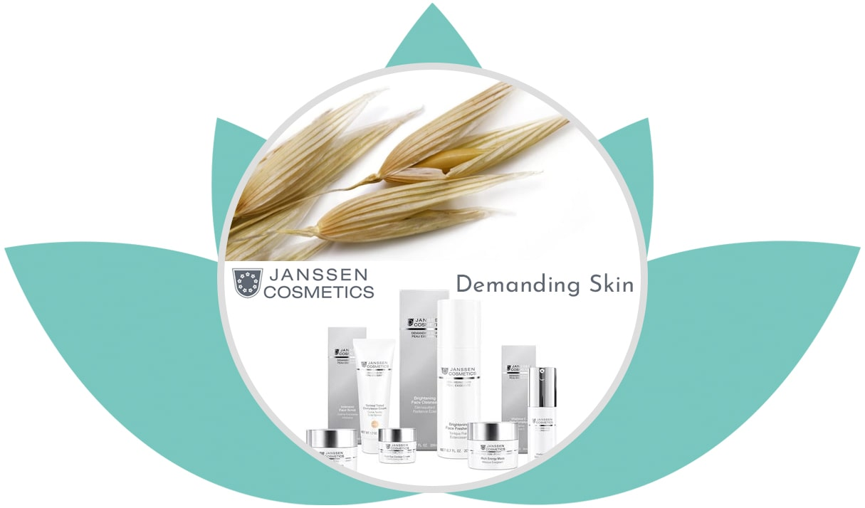 Demanding Skin • Beauty Jenny • Mobile Kosmetikerin • Beautician • Janssen Cosmetics