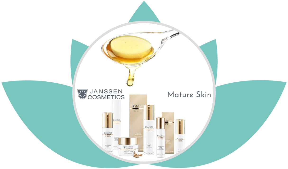 Mature Skin • Beauty Jenny • Mobile Kosmetikerin • Beautician • Janssen Cosmetics